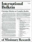 Intl. Bulletin Of Missionary Research